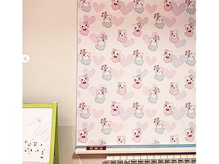 Рулонные шторы с детским рисунком Хомячки