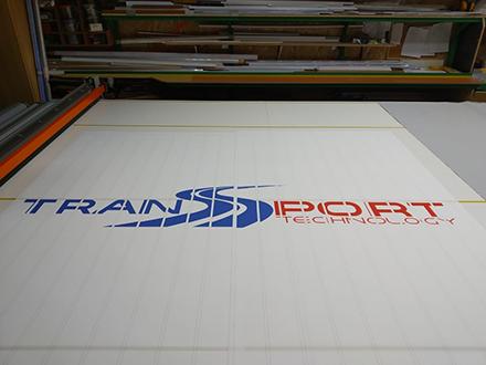 Жалюзи с логотипом Transport technology