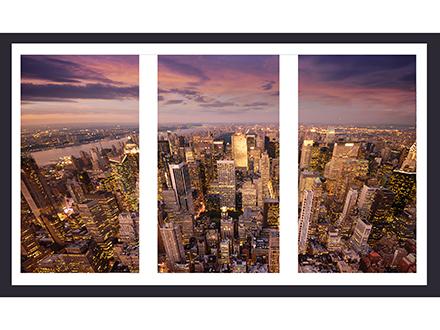 Макет позволяет увидеть какая часть фотографии умещается в пропорциях окна.